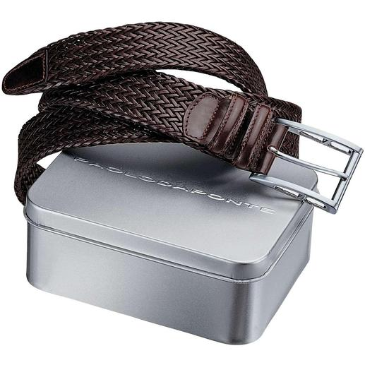 Paolo Braided Belt Twice as hard-wearing, beautiful and off-beat – the round-braided belt.