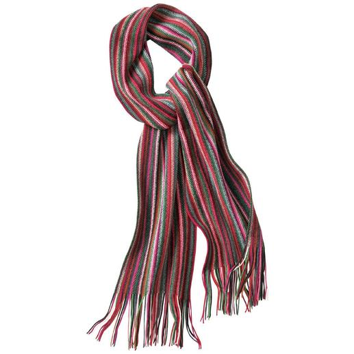 10-Colour Scarf Fashionable scarf in 10 colours which will go with everything.