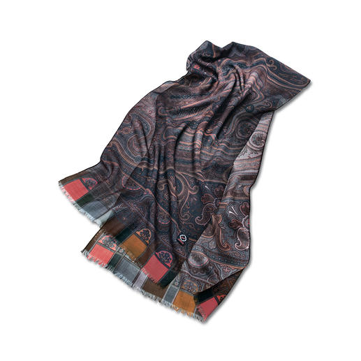 "Scarf ""8 Autumn-Colours"" 8 trendy autumn colours make this scarf gorgeous and versatile."