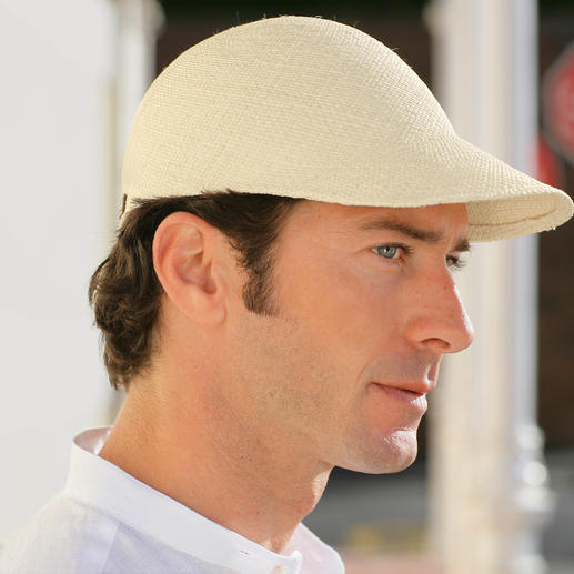 Panama Cap The Panama hat – your coolest sun protection. Featherlight. Made from hand-woven Panama straw.