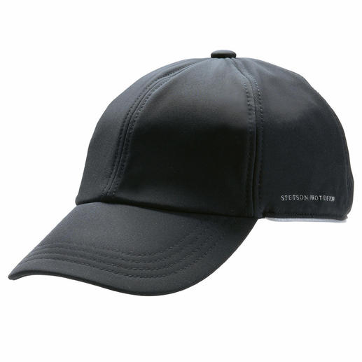 Softshell Cap - At last a cap that resists both wind and moisture. Made from warm, breathable softshell.