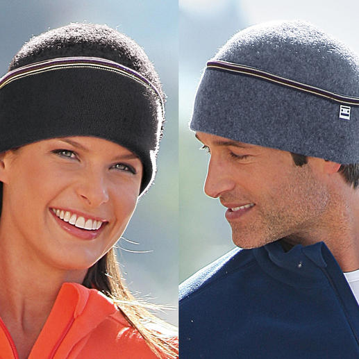 The Cap Hat The hat in soft, felted virgin wooll adapts perfectly and doesn't itch. For men and women.