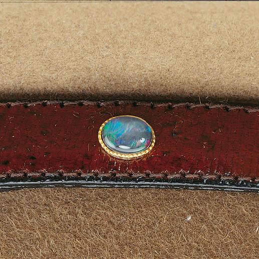 Akubra Hat The original Akubra, with a fine kangaroo-leather hatband and opal triplet.
