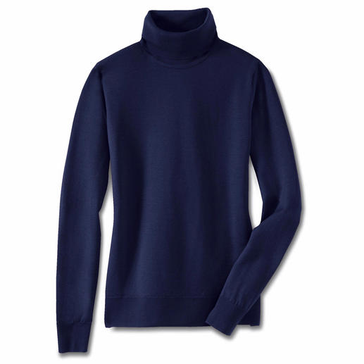 Polo Neck, Navy