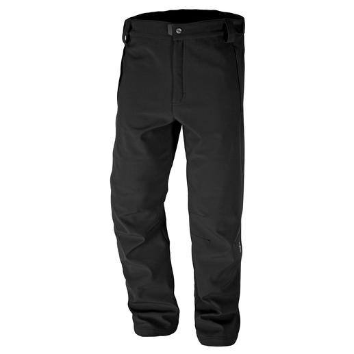 Softshell Trousers - Thanks to softshell these trousers are slim, light and still warm. And good looking, too.
