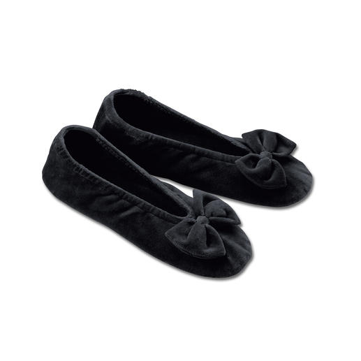 Nicki Ballerina Super comfy slippers – as elegant as ballerina pumps.