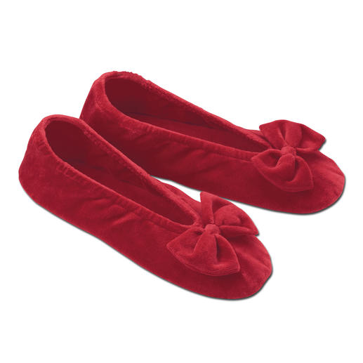 Nicki Ballerina Super comfy slippers – as elegant as ballerina pumps.