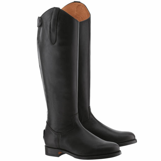 El Estribo® Riding Boots Traditionally sewn welt for the greatest wearing comfort. The original from Spain.