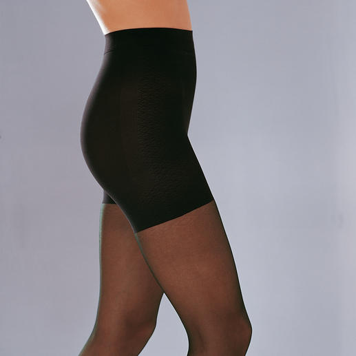 "Tights ""Silhouette Contrôle"" - Made from silky-soft, high-elastic 40-denier yarn. By Gallo of Italy."
