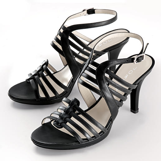 Lorbac Strap Sandals - An elegant sandal. Unexpectedly comfortable. A foam core shapes your own individual footbed.