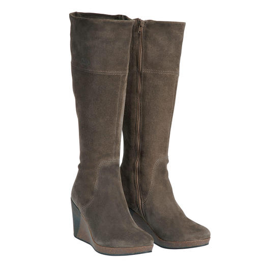 Scholl Platform Wedge Boot Platform wedge boots from the specialists for healthy feet.