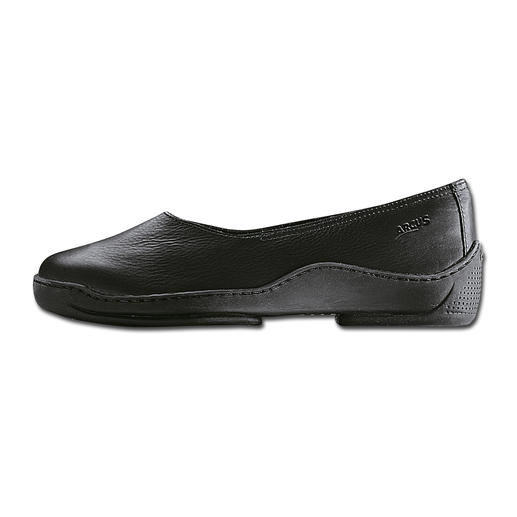 Arcus Mary Janes Sporty ballerinas. As comfortable as slippers. With genuine latex sole.