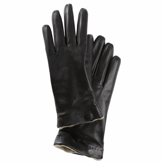 Merola Glove, Ladies The luxury glove for winter and summer. Made from the finest lamb nappa. With removable cashmere lining.