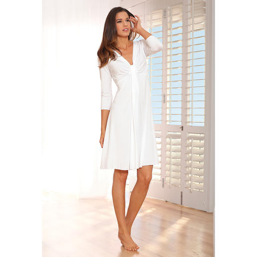 MicroModal® Couture Nightgown Classy couture for nighttime. Nightgown made from silky-soft, lastingly beautiful MicroModal®.