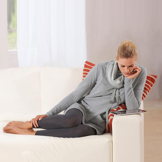 Sweatshirt Dress As comfortable as loungewear. But with a lot more charm.