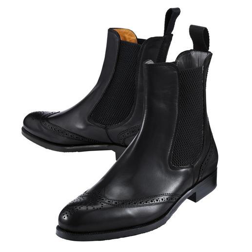 Fratelli Borgioli Chelsea Boot The immortal Chelsea boot made in premium Italian quality.