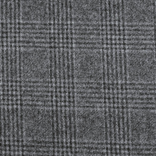The grey/black Glen plaid looks pulled together for the office with a fancy blouse, elegant cashmere jumper or blazer.