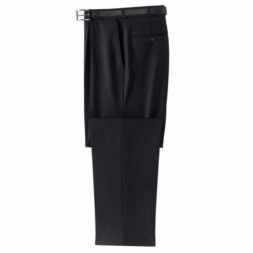 Washable Super 120's trousers Cool. Elastic. Comfortable. Washable.