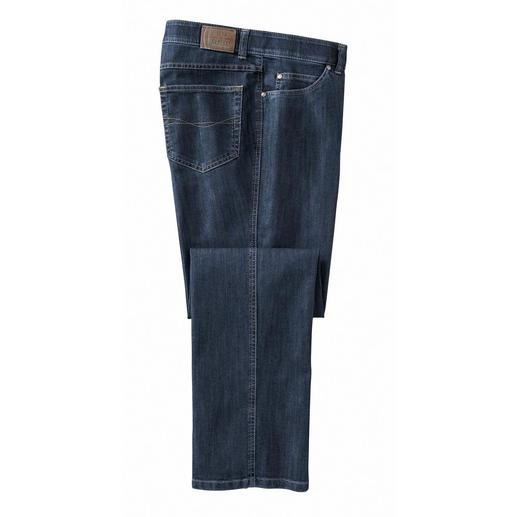 T400® Jeans Nothing bags. Far fewer creases from sitting. Dry overnight. Thanks to the highly elastic T400® fibre.