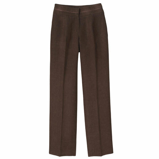 Comfy Business Linen Trousers Linen as heavy as this creases less. The linen trousers for business: Casual, airy, figure-flattering.