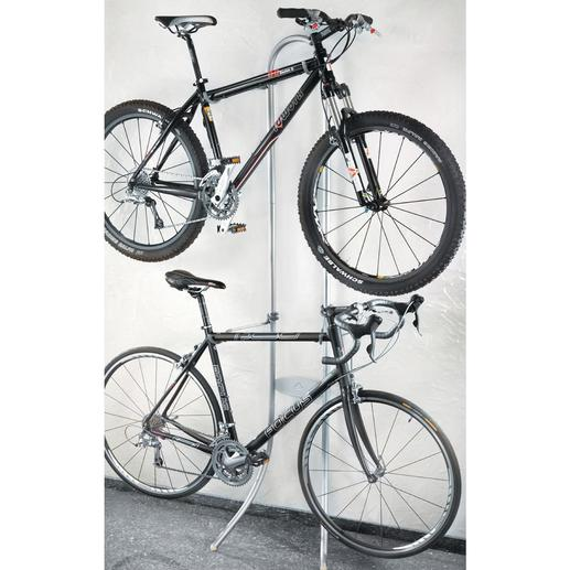 Bicycle Rack - No drilling. No screws. Just hang them up.