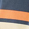 Off-white/Denim blue/Mandarine