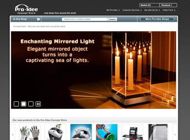 Screenshot Pro-Idee Concept Store