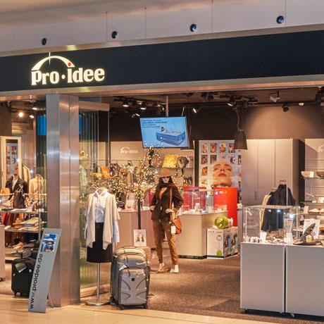 Pro-Idee Flughafenshop in Köln/Bonn